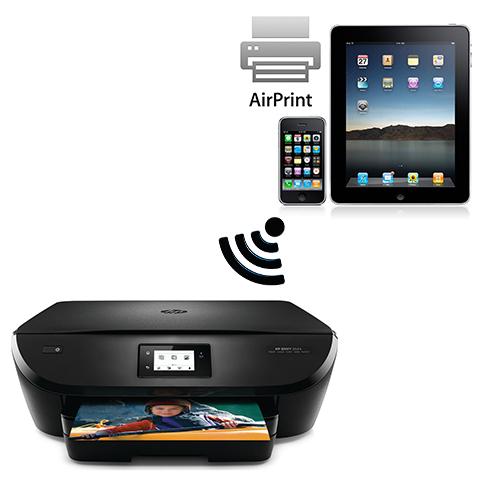 Sådan udskriver du fra iPad til trådløs printer